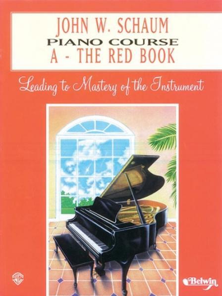 Piano Course a Book (Red) als Taschenbuch