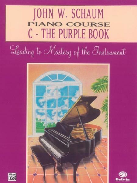 John W Schaum Piano Course C Purple Book als Taschenbuch