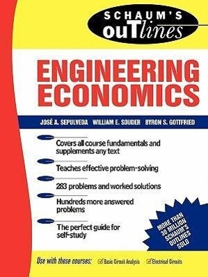 Schaum's Outline of Theory and Problems of Engineering Economics als Taschenbuch