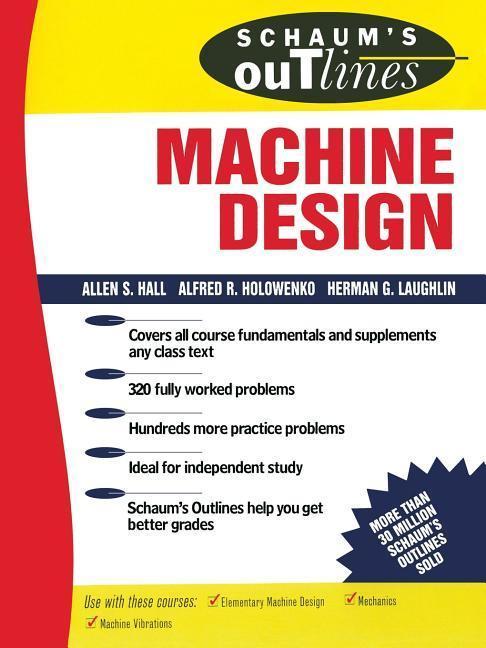 Schaum's Outline of Machine Design als Taschenbuch