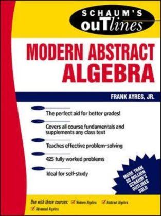 Modern Abstract Algebra als Buch