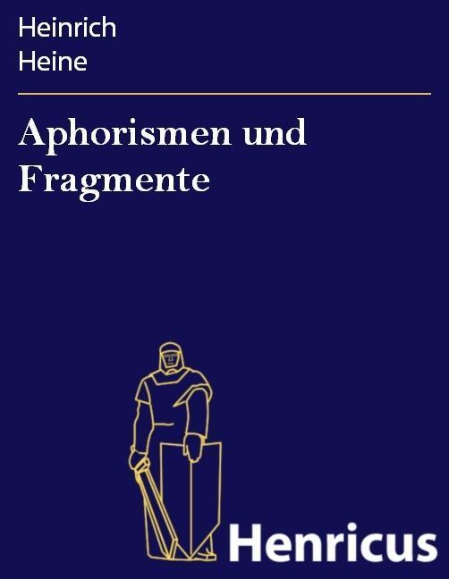 Aphorismen und Fragmente
