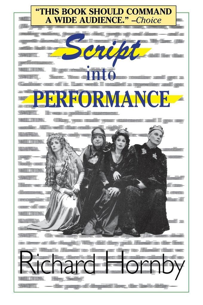 Script Into Performance als Taschenbuch
