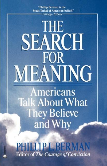 The Search for Meaning als Taschenbuch