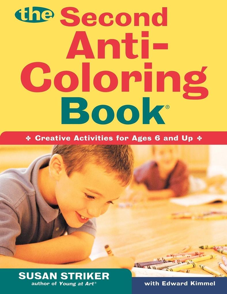 The Second Anti-Coloring Book als Taschenbuch