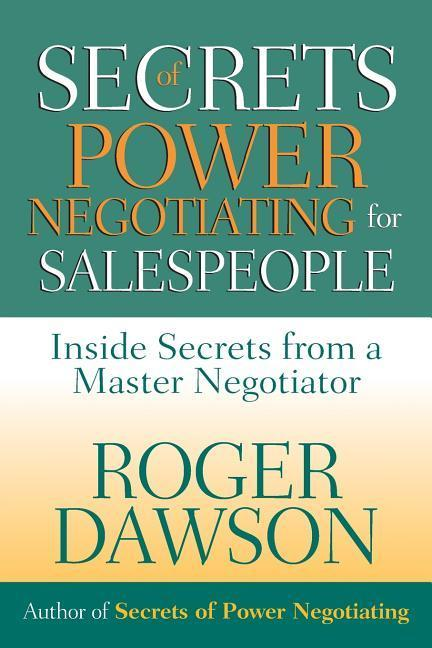 Secrets of Power Negotiating for Salespeople als Taschenbuch