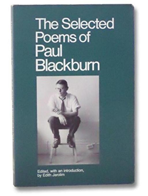 The Selected Poems of Paul Blackburn als Taschenbuch