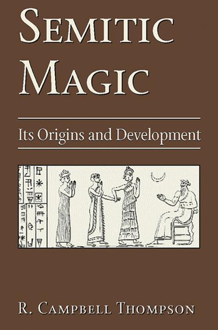 Semitic Magic: Its Origins and Development als Buch