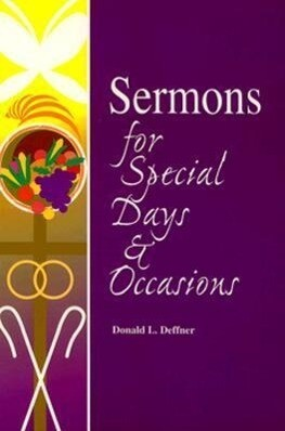 Sermons for Special Days and Occasions als Taschenbuch