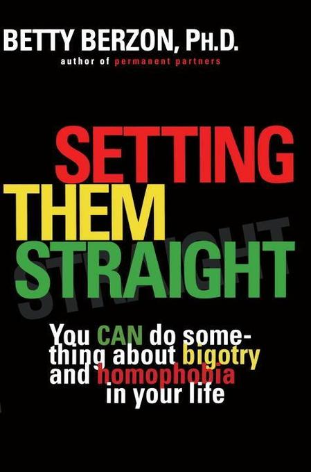 Setting Them Straight: You Can Do Something about Bigotry and Homophobia in Your Life als Taschenbuch