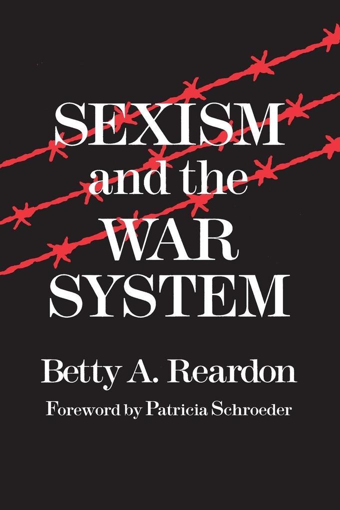 Sexism and the War System als Taschenbuch