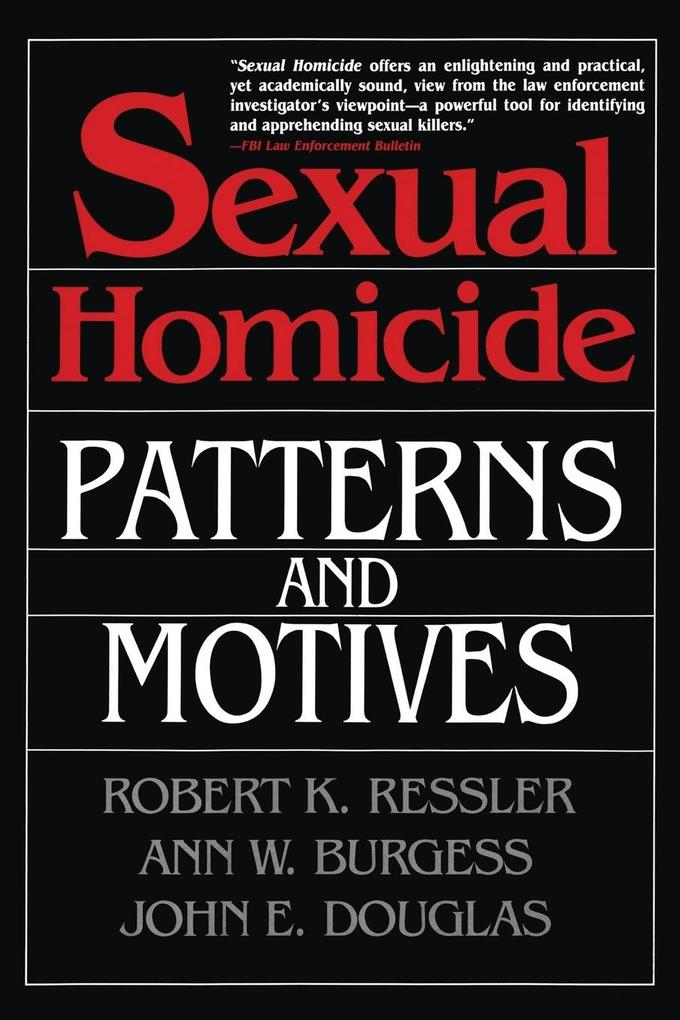 Sexual Homicide als Buch