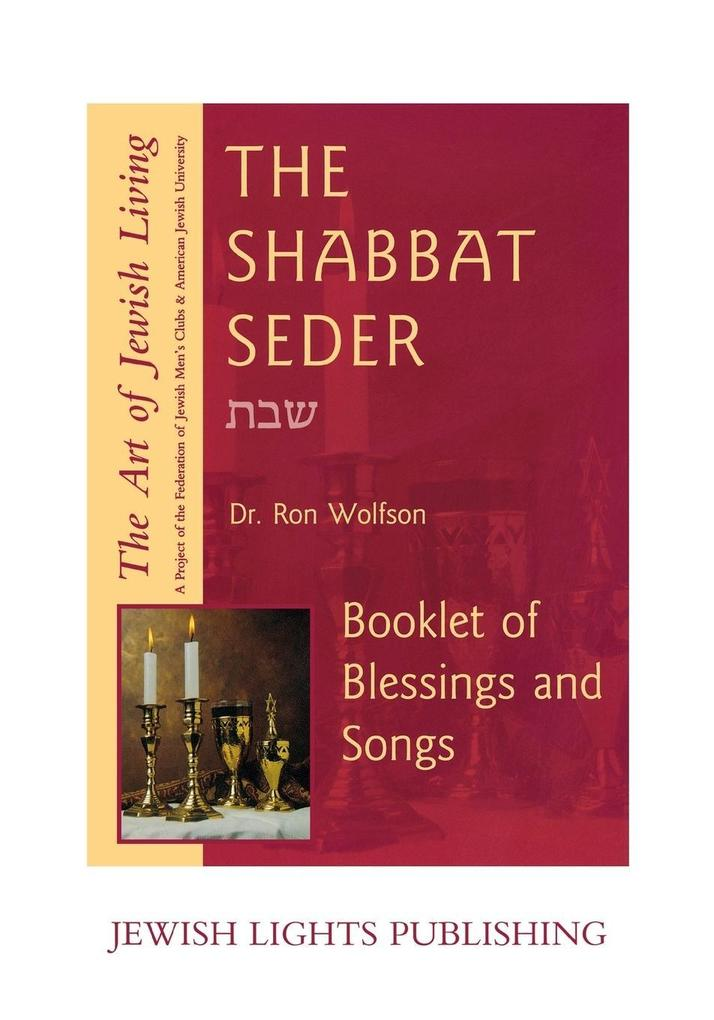Shabbat Seder: Booklet of Blessings and Songs als Taschenbuch