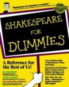 Shakespeare For Dummies als Buch