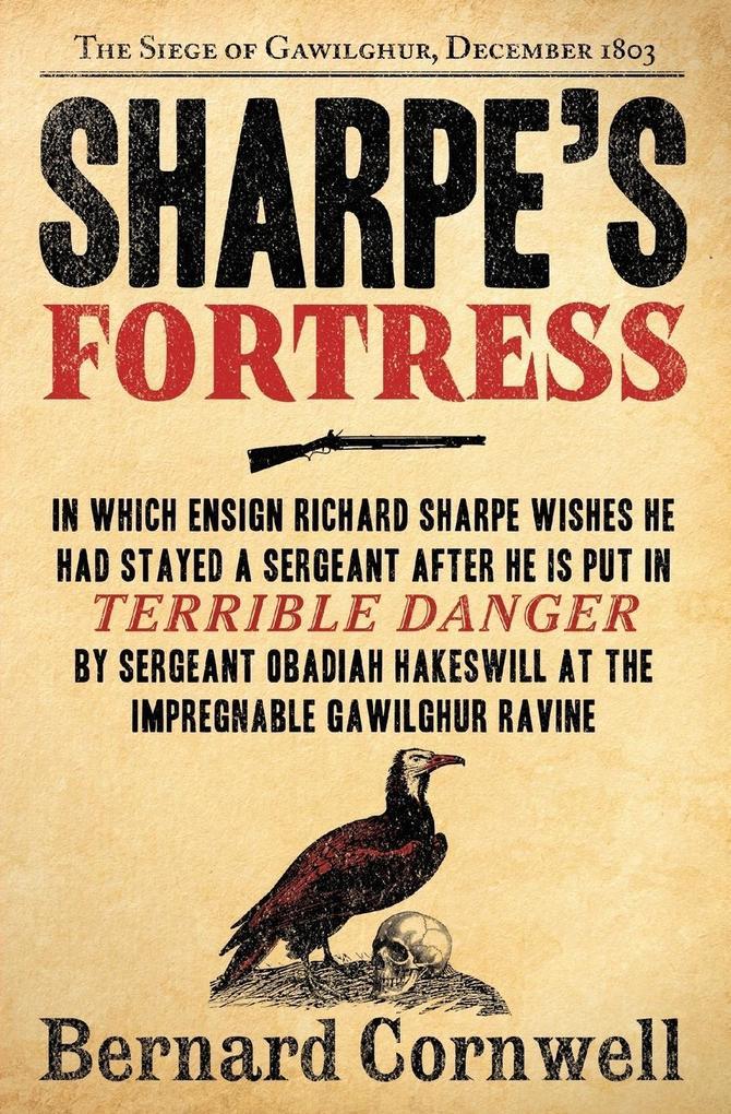 Sharpe's Fortress als Buch