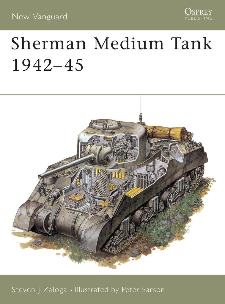 Sherman Medium Tank als Taschenbuch