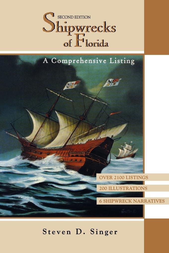 Shipwrecks of Florida: A Comprehensive Listing als Taschenbuch