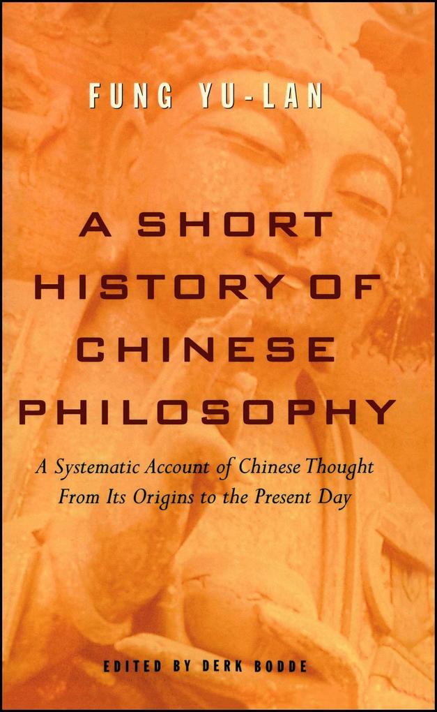 A Short History of Chinese Philosophy als Taschenbuch