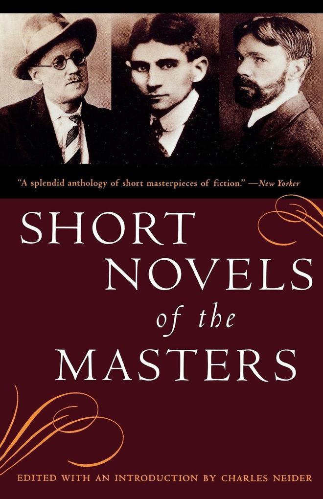 Short Novels of the Masters als Taschenbuch