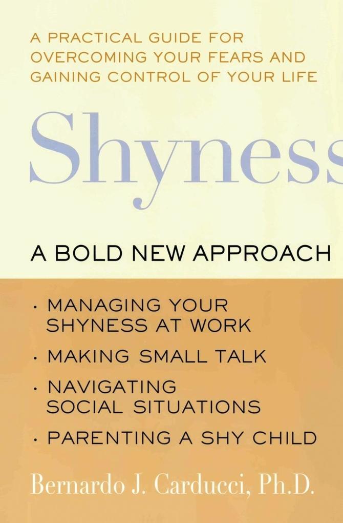 Shyness als Buch