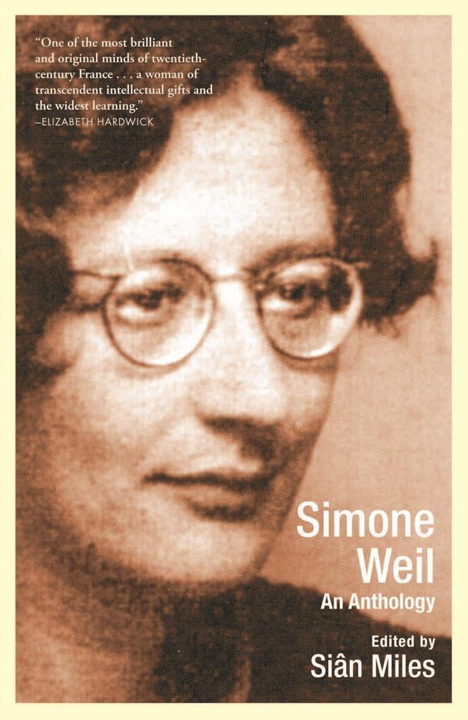 Simone Weil: An Anthology als Taschenbuch
