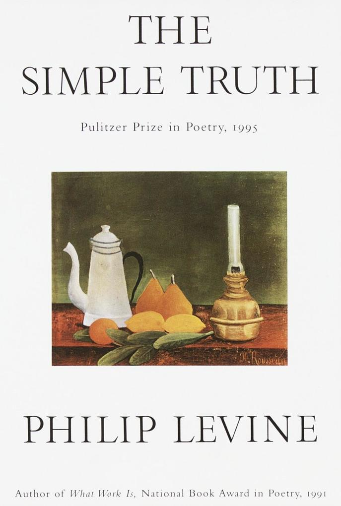 The Simple Truth: Poems als Taschenbuch