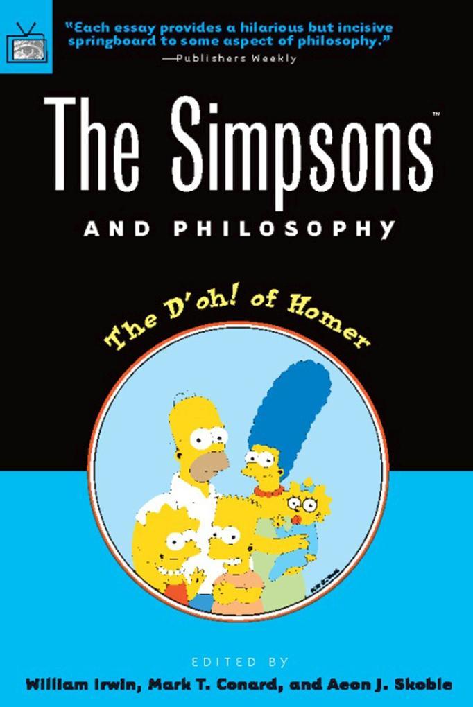 Simpsons and Philosophy als Taschenbuch
