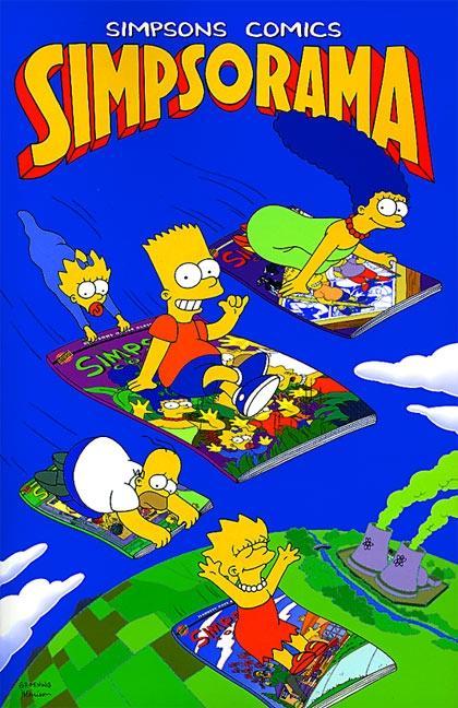 Simpsons Comics Simpsorama als Taschenbuch