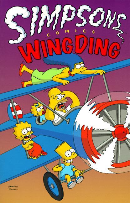 Simpsons Comics Wingding als Taschenbuch
