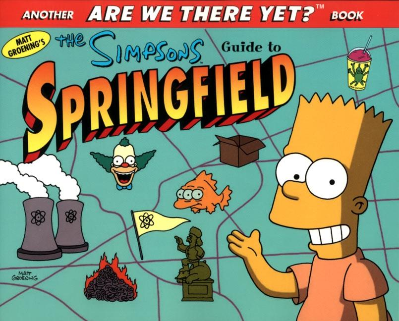 The Simpsons Guide to Springfield als Taschenbuch