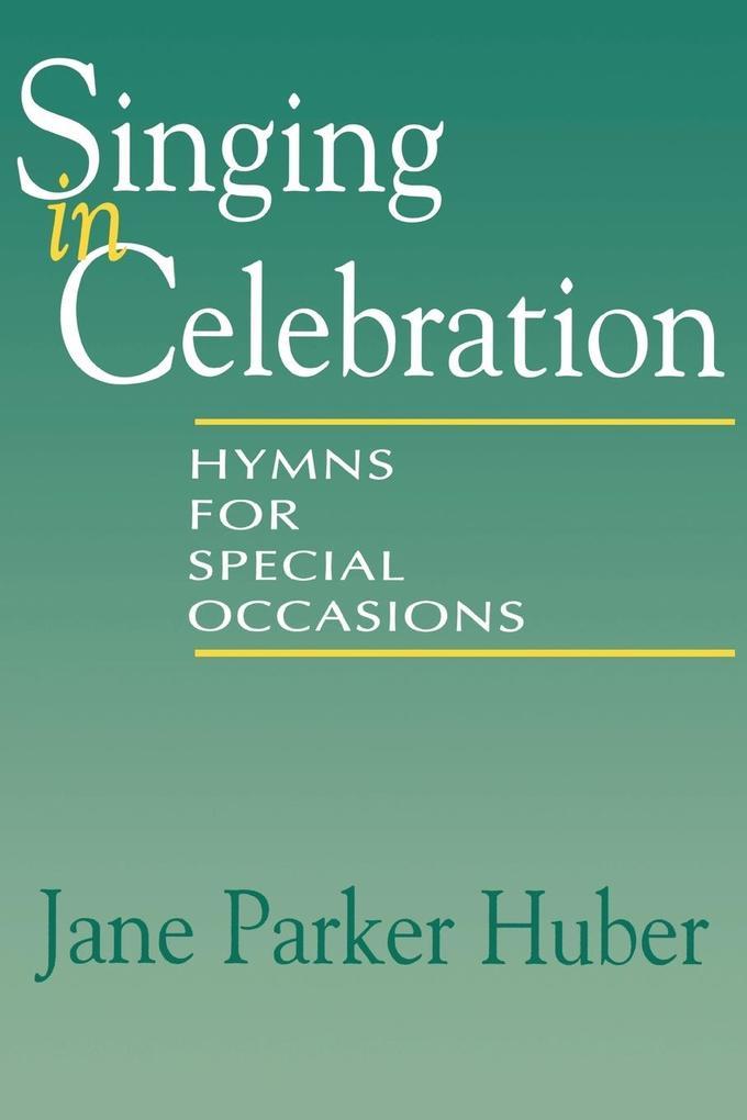 Singing in Celebration als Taschenbuch