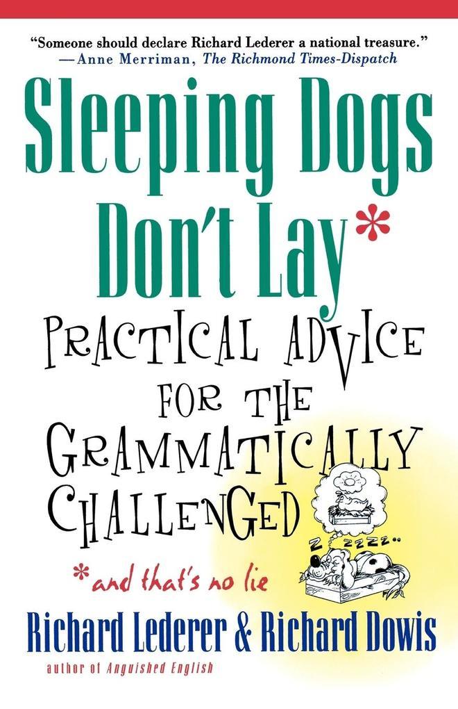 Sleeping Dogs Don't Lay als Taschenbuch
