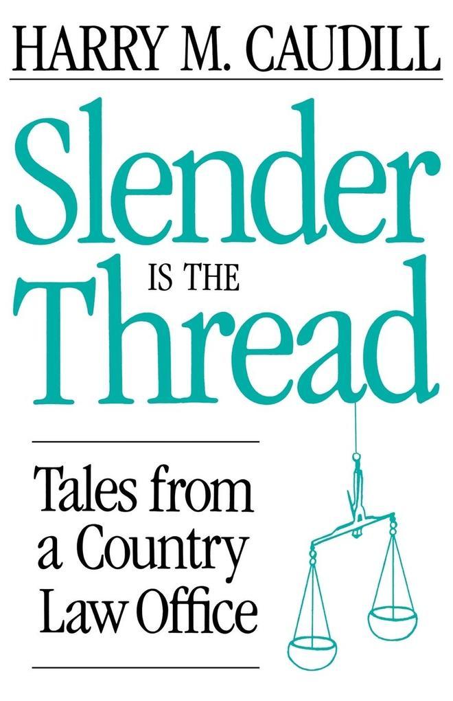 Slender Is the Thread als Taschenbuch