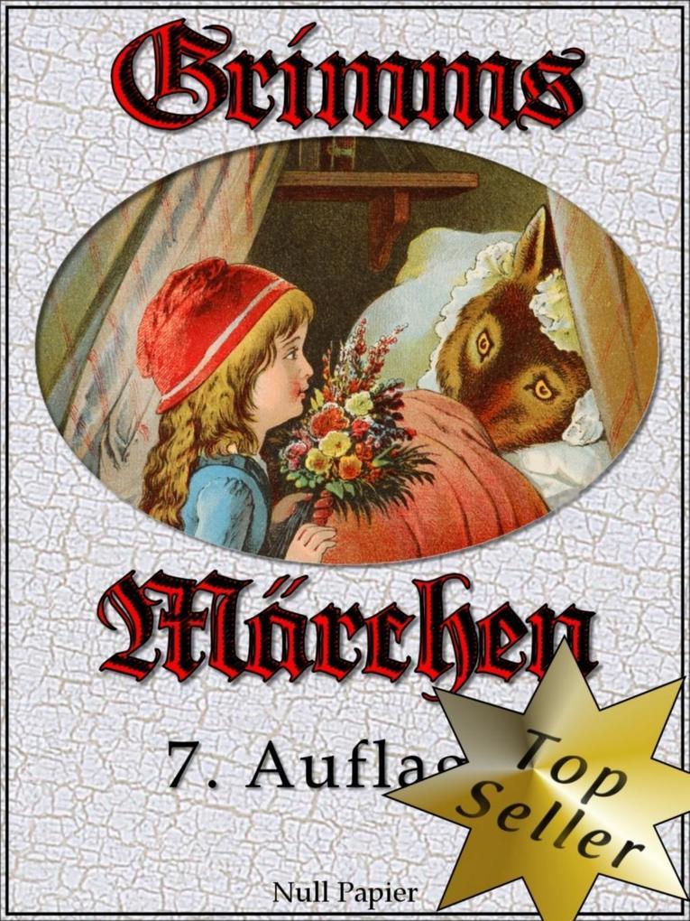 Grimms Märchen - Vollständige, überarbeitete und illustrierte Ausgabe (HD) als eBook