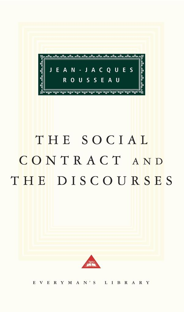 The Social Contract and the Discourses als Buch