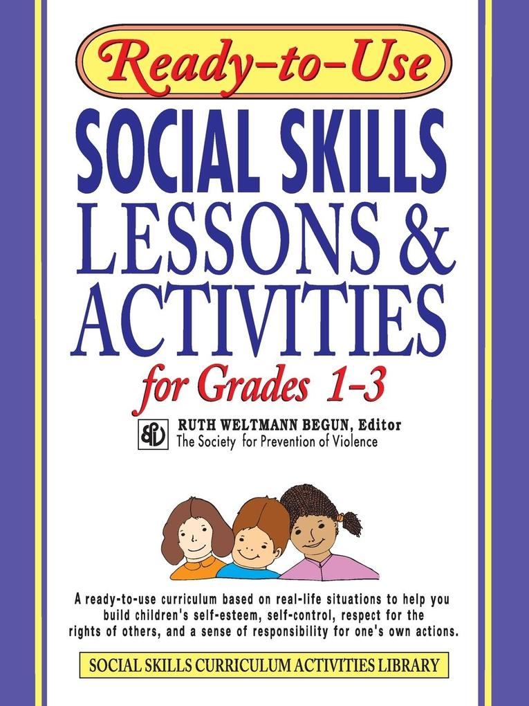 Ready-To-Use Social Skills Lessons & Activities for Grades 1-3 als Taschenbuch