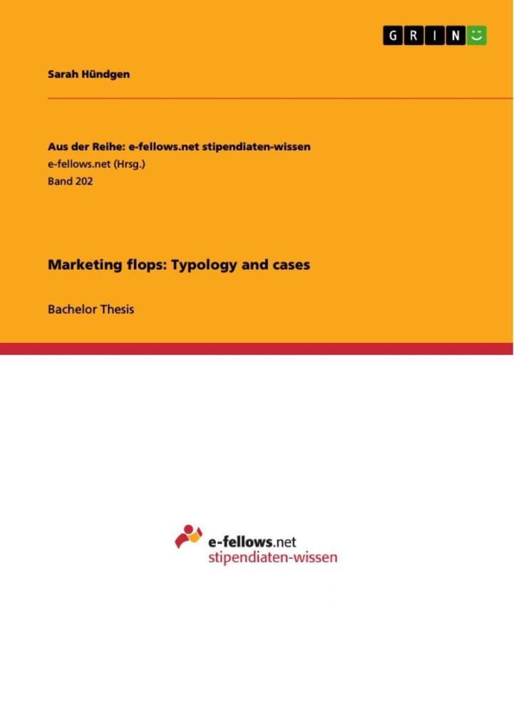 Marketing flops: Typology and cases