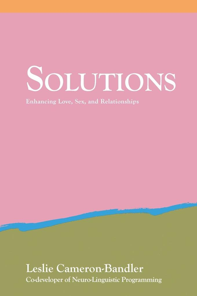 Solutions: Practical and Effective Antidotes for Sexual and Relationship Problems als Taschenbuch
