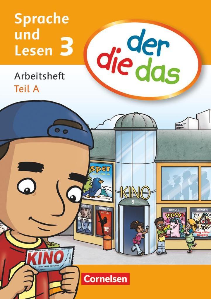 der die das - Sprache und Lesen 3. Schuljahr. Arbeitsheft Sprache Teil A und B im Paket als Buch