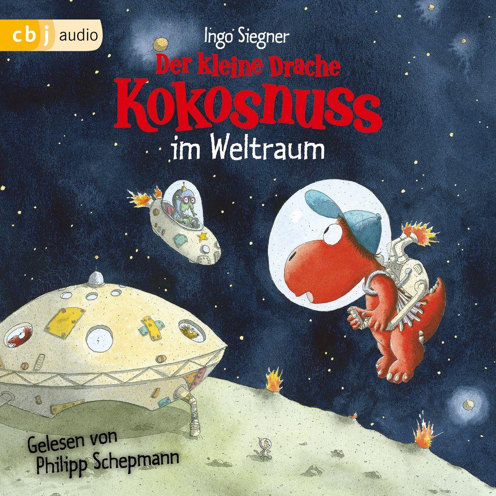 Der kleine Drache Kokosnuss im Weltraum als Hörbuch Download
