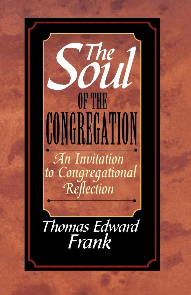 The Soul of the Congregation als Taschenbuch