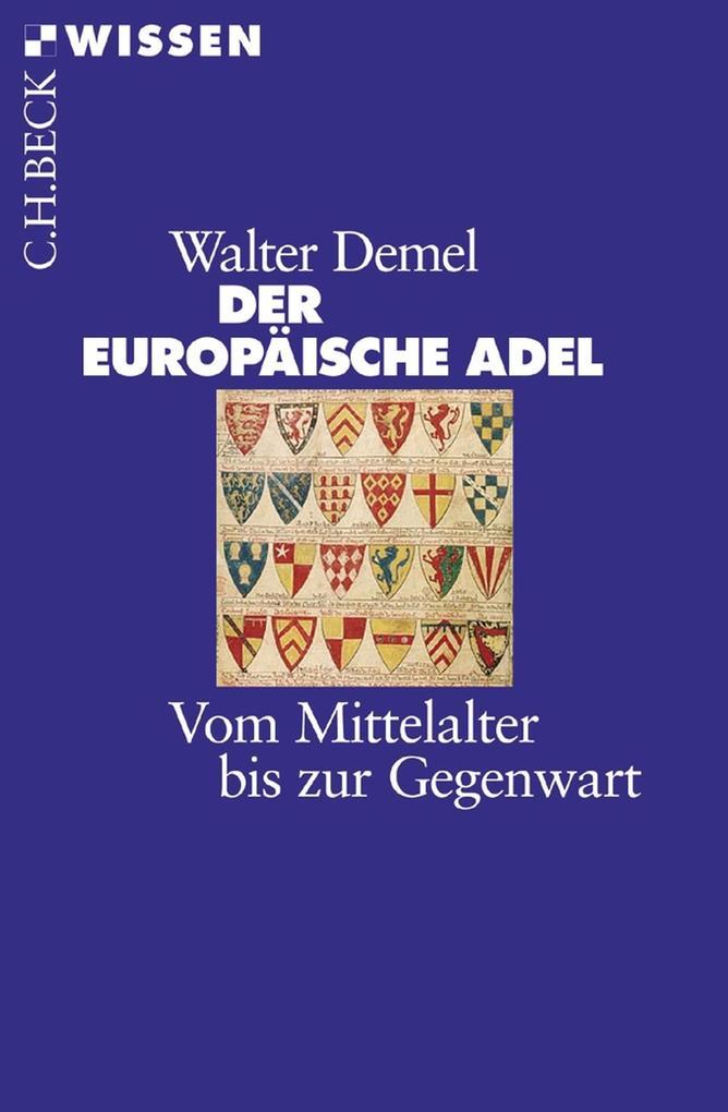 Der europäische Adel als eBook