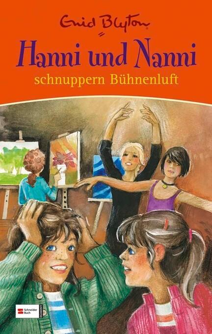 Hanni und Nanni schnuppern Bühnenluft als eBook von Enid Blyton