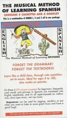 Rapanese Spanish Series,: The Musical Method of Learning Spanish Series, [With Booklet] als Hörbuch