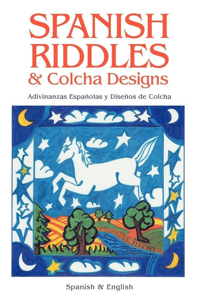 SPANISH RIDDLES & COLCHA DESIGNS als Taschenbuch