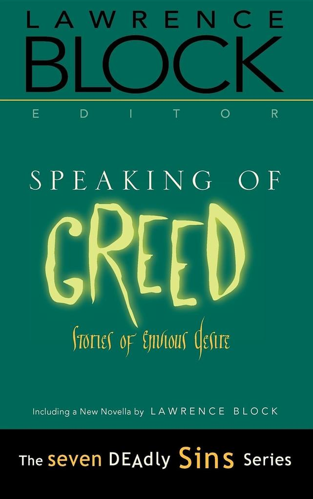 Speaking of Greed: Stories of Envious Desire als Buch