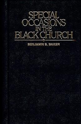Special Occasions in the Black Church als Buch