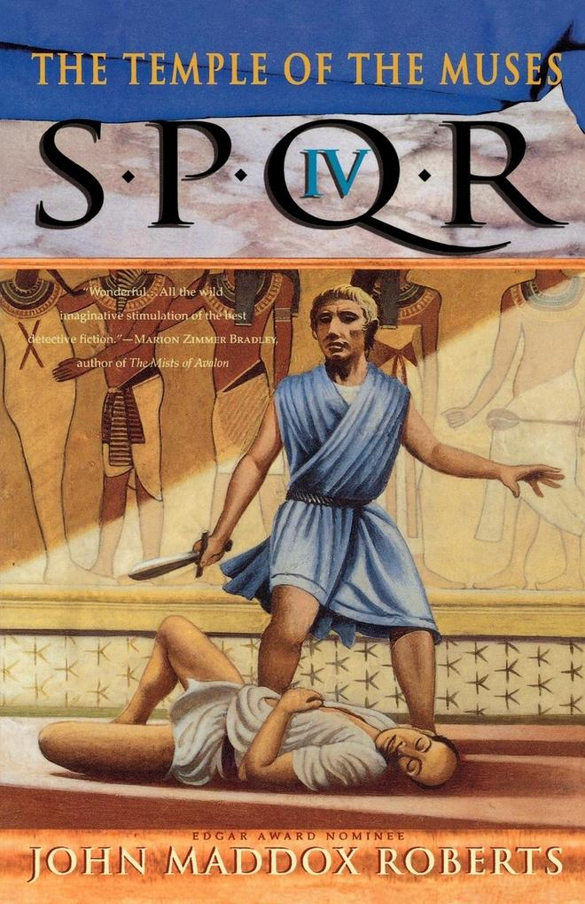 Spqr IV: The Temple of the Muses als Taschenbuch