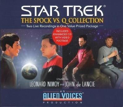 Spock vs. Q Gift Set als Hörbuch