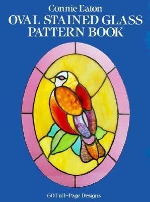 Oval Stained Glass Pattern Book als Taschenbuch